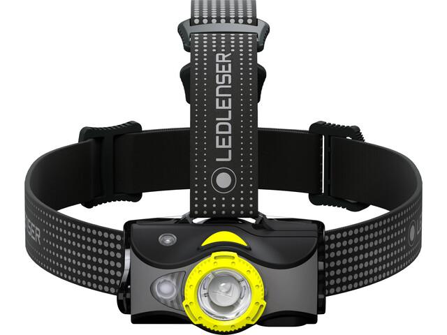 Led Lenser MH7 Headlight, black/yellow